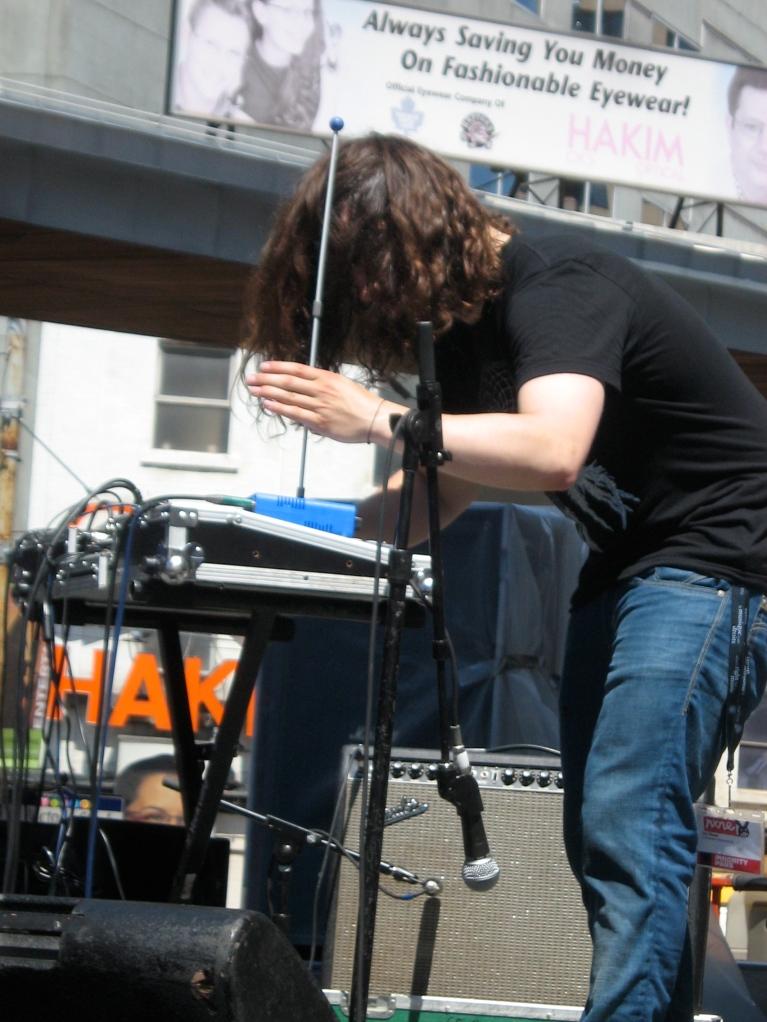 De Staat live at Yonge-Dundas Square on June 19, 2010