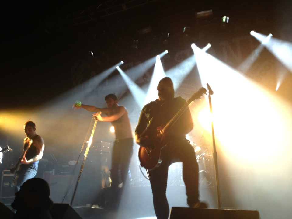 Alexisonfire at Sound Academy Dec. 29, 2012 (their second-last show ever).