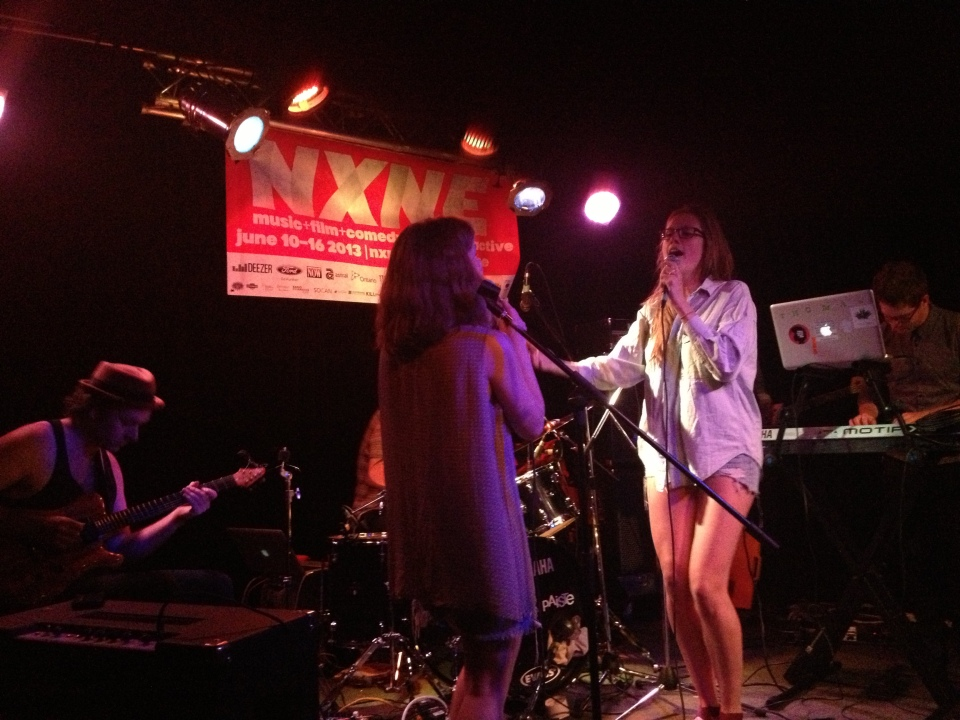 Bernice played The Piston for NXNE 2013's first night of music. (Photo: Tom Beedham)