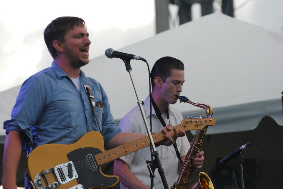 JD McPherson played TURF July 5 at Fort York Garrison Commons in Toronto. Photo: Tom Beedham