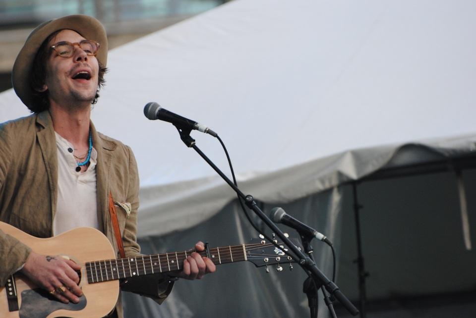 Justin Townes Earle played TURF July 5 at Fort York Garrison Commons in Toronto. Photo: Tom Beedham
