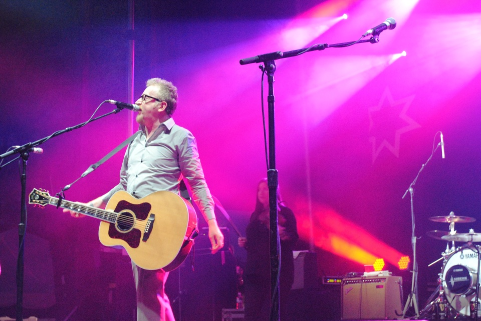 Flogging Molly performed at TURF July 6, 2013. Photo: Tom Beedham