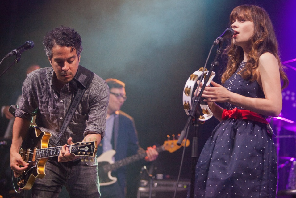 She & Him's strict no camera policy at TURF placed audience members in a sour state, and for many, one that wouldn't be cured by the band's set. Photo: Frank Yang/TURF